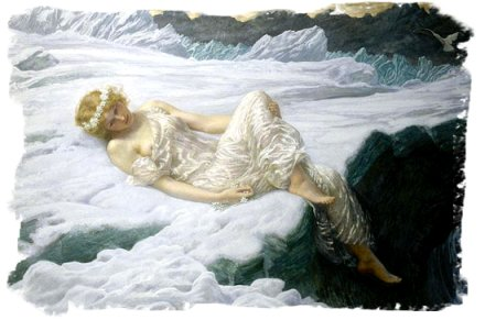 'heart of Snow' Edward Robert Hughes