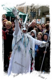 Clun Green Man Festival 2012 - the Ice Queen ©vcsinden2012