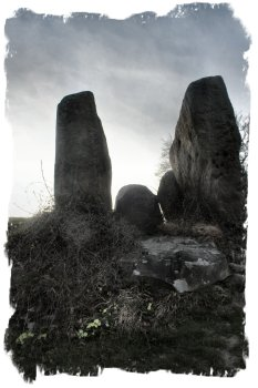 Coldrum - megalithic long barrow in Kent, ©vcsinden2012