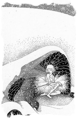 'the Fairy in Winter' Dorothy Lathrop
