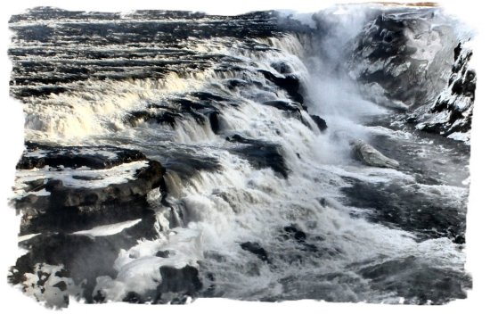 Iceland - the power of Gullfloss ©vcsinden2012