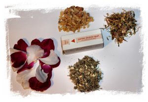 oak Moon Incense for early July full moon