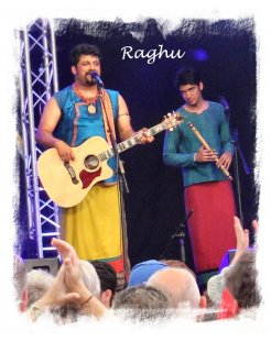Raghu Dixit  at The Cambridge Folk Festival July 2012 ©vcsinden2012
