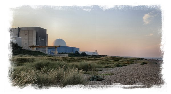Sizewell Nuclear Power Station in the evening ©vcsinden2012