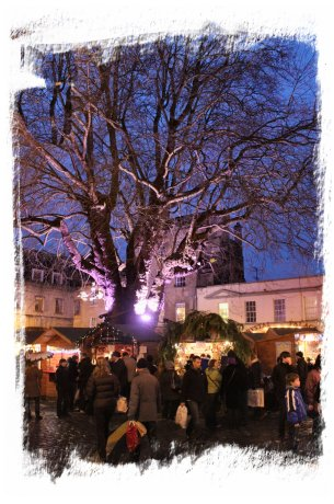 Bath Christmas Market on Abbey Green ©vcsinden2012
