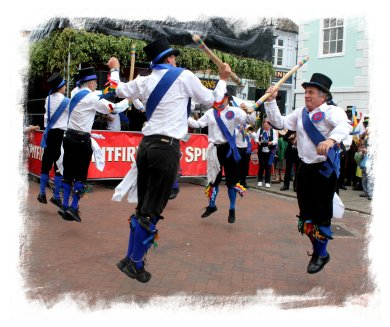Great Western Morris at the Faversham Hop Festival  ©vcsinden2012