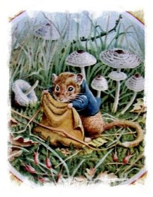 Racey Helps dormouse in 'The Tail of Hunky Dory'