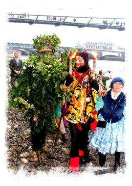 theLionsPart - Twelfth Night - Beelzebub meets the Green Man from the Thames Cutter  ©vcsinden2013