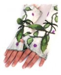 Leafy Elven Cuffs from Artmode on Etsy