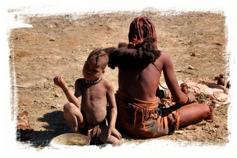 Himba mother and son, Namibia ©vcsinden2014