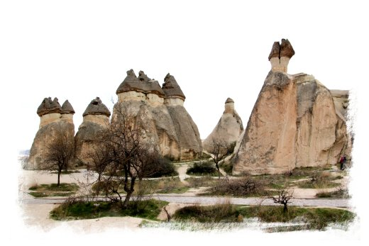 Fairy Chimneys - Cappadocia, Turkey ©vcsinden2014