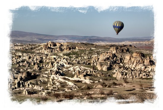 Ballooning, early evening - Cappadocia, Turkey ©vcsinden2014
