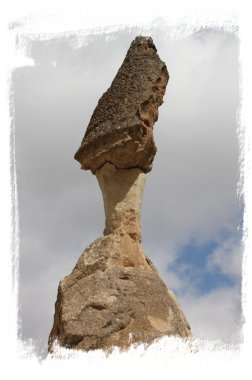Fairy chimney top - Cappadocia, Turkey ©vcsinden2014
