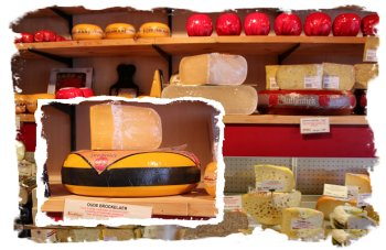Dutch cheeses with 3 year old Brockelaer Delft, Netherlands - old town house ©vcsinden2015