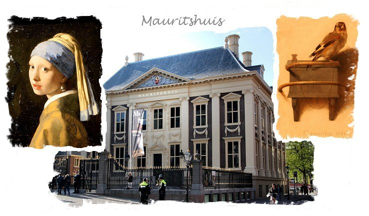 Mauritshuis in the Hague with 'Girl with the Pearl Earring' and 'The Goldfinch'  ©vcsinden2015