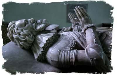 17th century effigy of Sir John Kyrle, St. Bartholemew's Church, Much Marcle, Herefordshire ©vcsinden2014