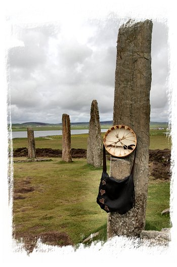 Drum, summer solstice a the Ring of Brodgar, mainland Orkney ©vcsinden2015
