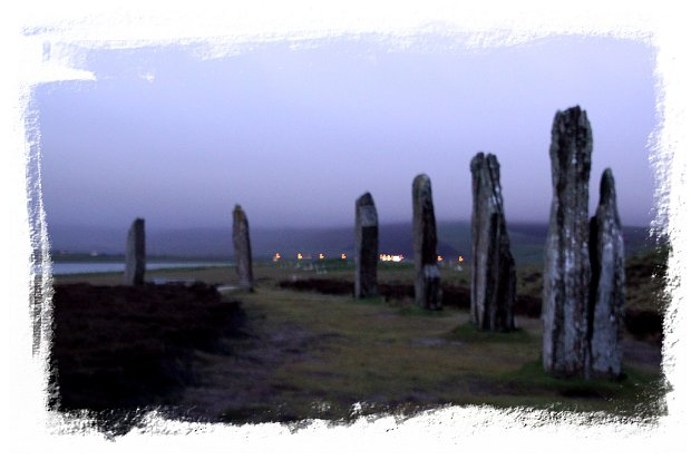 The Ring of Brodgar at mignight on Summer Solstice  ©vcsinden2015