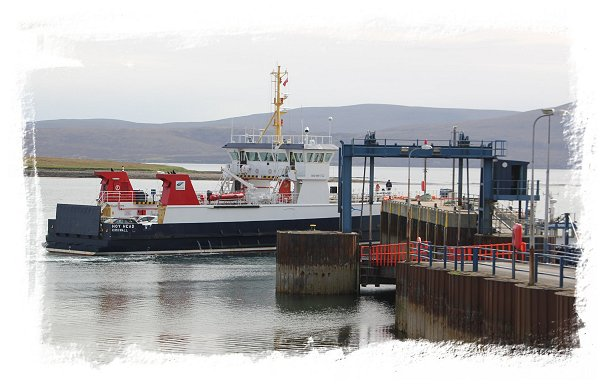 Orkneys - roll on roll off car ferry to Lyness on Hoy ©vcsinden2015