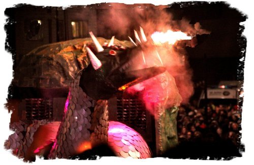 The Dragon at Rye Bonfire Society, Sussex 2014 ©vcsinden2014