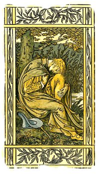 'Willow, willow' Walter Crane