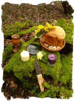 Ostara celebration for the fae Muddypond Green