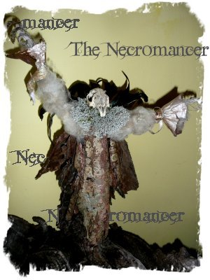 Twig and bark crafts - The Necromancer