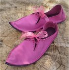 Fairysteps - handmade Titiania shoes in pink leather