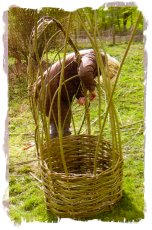 AJS Rural Crafts Training - living willow seat