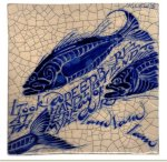 Kitchen tiles from Poetry Tiles - fish