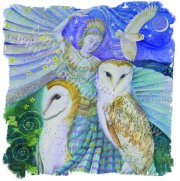 Wendy Andrew 'Owl Dance' card