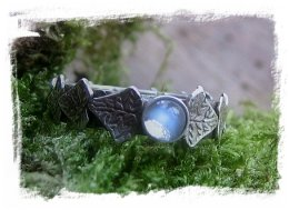 Faery jewellery - Ivy Garland Ring from Where The Wild Roses Are ©wherethewildrosesgrow