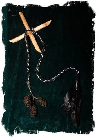 Amulet for cougare, made from alder wood ©vcsinden2011