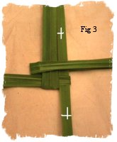 How to make a Brigid's cross part 3