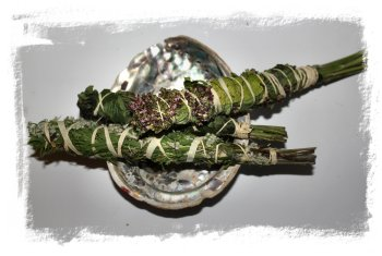 Smudging - How to make the Hallowed Smoke