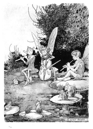 'The Fairy Musicians' Helen Jacobs