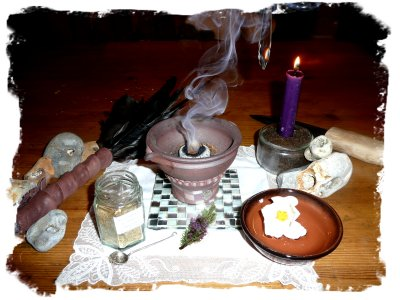 Summer Solstice ritual from faery Muddypond Green