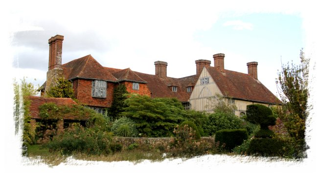 Great Dixter, East Sussex - back of the house  ©vcsinden2014