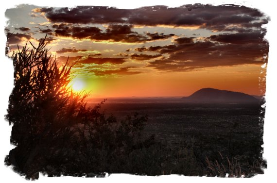 Ai-Aiba Rock Painting Lodge, Namibia - sundowner drive   ©vcsinden2014