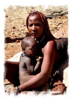 Himba mother, Namibia ©vcsinden2014