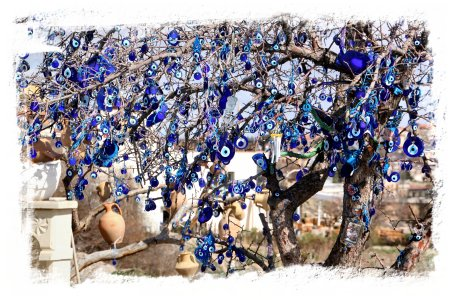 Evil Eye Tree or Nazur tree - Cappadocia, Turkey ©vcsinden2014