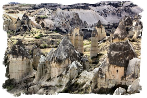 Fairy Chimneys, Monks' Valley - Cappadocia, Turkey ©vcsinden2014