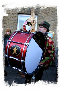 The drum - Whittlesey Straw Bear festival 2014  ©vcsinden2014