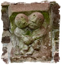 Corbel at Kilpeck Church, Herefordshire ©vcsinden2014