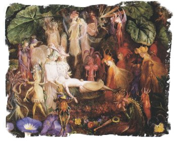 The Faery's Funeral , John Anster Fitzgerald