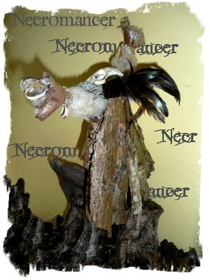 Twig and bark crafts - The Necromancer (2)