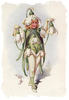 Snowdrop Child by costume designer W.J.C Pitcher